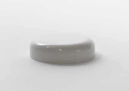 63mm Cosmetic Dome For 100g Jar White