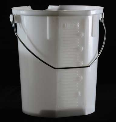 25 Litre Graduated Pail     Natural