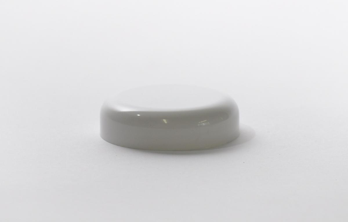 73mm Cosmetic Lid White